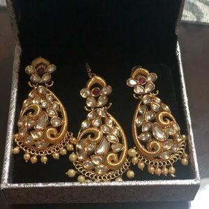 Antique khundan jewelry